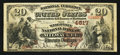 Milwaukee, WI - $20 1882 Brown Back Fr. 499 The Wisconsin NB Ch. # (M)4817