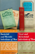 Books:Medicine, [Microbiology/Microscopy]. Group of Eight Books on Microbiology orMicroscopy. Various publisher's and dates. ... (Total: 8 Items)