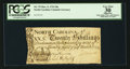 Colonial Notes:North Carolina, North Carolina March 9, 1754 20s PCGS Apparent Very Fine 30.. ...