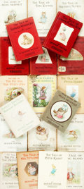 Books:Children's Books, Beatrix Potter. Group of Twenty Books. London: Frederick Warne,[various dates]. Includes one modern edition (1985); all oth...(Total: 20 Items)