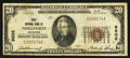 National Bank Notes:Wisconsin, Neillsville, WI - $20 1929 Ty. 1 The First NB Ch. # 9606. ...