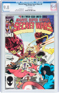 Modern Age (1980-Present):Superhero, Marvel Super Heroes Secret Wars #9 (Marvel, 1985) CGC NM/MT 9.8White pages....