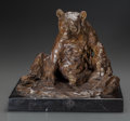 Fine Art - Sculpture, American:Contemporary (1950 to present), RICHARD LOFFLER (American, b. 1956). Forrest Clown, circa1990. Bronze with brown patina. 9-1/2 inches (24.13 cm) high o...