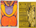 Music Memorabilia:Posters, Grateful Dead Fillmore Auditorium Concert Poster Group (BillGraham, 1966-67).... (Total: 2 Items)