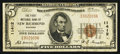 National Bank Notes:Wisconsin, New Richmond, WI - $5 1929 Ty. 1 The First NB Ch. # 11412. ...
