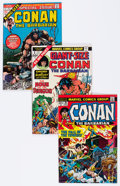 Bronze Age (1970-1979):Adventure, Conan the Barbarian #26-275 Plus Short Boxes Group (Marvel, 1970s-80s) Condition: Average VF.... (Total: 2 Items)