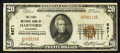 National Bank Notes:Wisconsin, Hartford, WI - $20 1929 Ty. 1 The First NB Ch. # 8671. ...