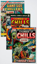 Bronze Age (1970-1979):Horror, Chamber of Chills #2-25 Group (Marvel, 1972-76) Condition: AverageVF-.... (Total: 27 Comic Books)
