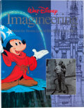 Animation Art:Limited Edition Cel, Walt Disney Imagineering Signed Hardcover Book (Hyperion,1996)....
