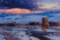 Fine Art - Painting, American:Contemporary   (1950 to present)  , XIANGYUAN JIE (American, 20th Century). Distant Thunder. Oilon canvas. 24 x 36 inches (61.0 x 91.4 cm). Signed lower ri...