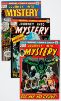 Bronze Age (1970-1979):Horror, Journey Into Mystery #1-19 Complete Series Group (Marvel, 1972-75)Condition: Average FN/VF.... (Total: 19 Comic Books)