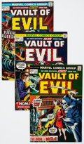 Bronze Age (1970-1979):Horror, Vault of Evil #2-23 Group (Marvel, 1973-75) Condition: AverageVF-.... (Total: 22 Comic Books)