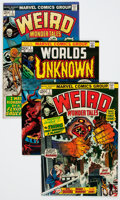 Bronze Age (1970-1979):Horror, Weird Wonder Tales/Worlds Unknown Group (Marvel, 1973-77)Condition: Average VF-.... (Total: 30 Comic Books)