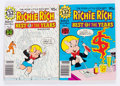 Bronze Age (1970-1979):Humor, Richie Rich Best of the Years #5 and 6 File Copy Long Box Group(Harvey, 1980) Condition: Average NM-....
