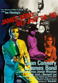 "Movie Posters:James Bond, Dr. No (United Artists, 1962). German A1 (23"" X 33"").. ..."