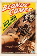"Movie Posters:Animation, Blonde Comet (PRC, 1941). One Sheet (27"" X 41"").. ..."