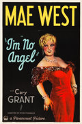 "Movie Posters:Comedy, I'm No Angel (Paramount, 1933). One Sheet (27"" X 41"") Style A.. ..."