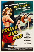 "Movie Posters:Bad Girl, Young and Wild (Republic, 1958). One Sheet (27"" X 41"").. ..."