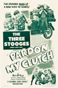 "Movie Posters:Comedy, Pardon My Clutch (Columbia, 1948). One Sheet (27"" X 41"").. ..."