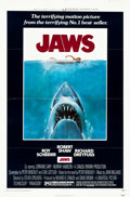 "Movie Posters:Horror, Jaws (Universal, 1975). One Sheet (27"" X 41"").. ..."