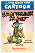 "Movie Posters:Animation, Salt Water Tabby (MGM, 1947). One Sheet (27"" X 41"").. ..."