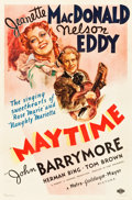 """Movie Posters:Musical, Maytime (MGM, 1937). One Sheet (27"""" X 41"""") Style D.. ..."""