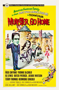 "Munster, Go Home (Universal, 1966). One Sheet (27"" X 41"")"