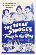 """Movie Posters:Comedy, Fling in the Ring (Columbia, 1955). One Sheet (27"""" X 41"""").. ..."""