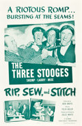 "Movie Posters:Comedy, Rip, Sew, Stitch (Columbia, 1953). One Sheet (27"" X 41"").. ..."