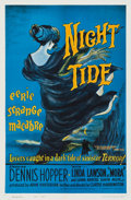 "Movie Posters:Horror, Night Tide (American International, 1963). One Sheet (27"" X 41"")Style B.. ..."