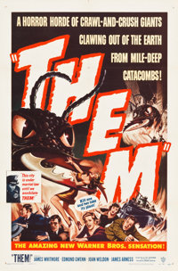 "Them! (Warner Brothers, 1954). One Sheet (27"" X 41"")"