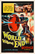 "Movie Posters:Science Fiction, World Without End (Allied Artists, 1956). One Sheet (27"" X 41"")....."