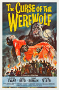 "Movie Posters:Horror, The Curse of the Werewolf (Universal International, 1961). OneSheet (27"" X 41"").. ..."