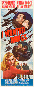 "Movie Posters:War, I Wanted Wings (Paramount, 1941). Insert (14"" X 36"").. ..."