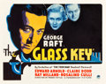 """Movie Posters:Crime, The Glass Key (Paramount, 1935). Half Sheet (22"""" X 28"""").. ..."""
