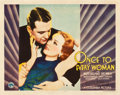 """Movie Posters:Drama, Once to Every Woman (Columbia, 1934). Half Sheet (22"""" X 28""""). Drama.. ..."""