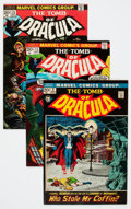 Bronze Age (1970-1979):Horror, Tomb of Dracula Group (Marvel, 1972-79) Condition: Average VF-....(Total: 73 Comic Books)