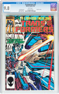 Modern Age (1980-Present):Superhero, Transformers #4 (Marvel, 1985) CGC NM/MT 9.8 White pages....