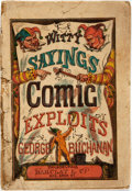 Books:Literature Pre-1900, George Buchanan. Witty Sayings and Comic Exploits of GeorgeBuchanan. Philadelphia: Barclay & Co., [n.d., circa ...