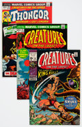 Bronze Age (1970-1979):Horror, Creatures on the Loose #10-37 Group (Marvel, 1971-75) Condition:Average VF.... (Total: 28 Comic Books)
