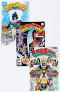 Modern Age (1980-Present):Superhero, Wonder Woman Box Lot (DC, 1987-94) Condition: Average VF/NM....
