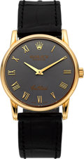 Timepieces:Wristwatch, Rolex Ref. 5116 Very Fine Yellow Gold Cellini. ...