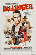 """Movie Posters:Crime, Dillinger & Other Lot (American International, 1973). One Sheets (2) (27"""" X 41""""). Crime.. ... (Total: 2 Items)"""