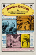 """Movie Posters:Fantasy, Doctor Dolittle (20th Century Fox, 1968). One Sheet (27"""" X 41"""").Fantasy.. ..."""
