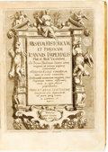 Books:Biography & Memoir, [Featured Lot]. Giovanni Imperiale. Musaeum Historicum EtPhysicum Ioannis Imperialis Phil: et Med: Vicentini. In Primo...