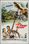 """Movie Posters:Fantasy, The 7th Voyage of Sinbad & Other Lot (Columbia, R-1975). One Sheet (27"""" X 41"""") & Lobby Cards (2) (11"""" X 14"""") Style B. Fantas... (Total: 3 Items)"""