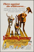 "Movie Posters:Adventure, The Incredible Journey & Others Lot (Buena Vista, 1963). OneSheets (6) (27"" X 41""). Adventure.. ... (Total: 6 Items)"