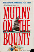"Movie Posters:Adventure, Mutiny on the Bounty (MGM, 1962). One Sheet (27"" X 41"") AdvanceStyle A. Adventure.. ..."