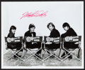 """Movie Posters:Rock and Roll, The Monkees (NBC, 1980s). Autographed Convention Photo (8"""" X 10"""").Rock and Roll.. ..."""