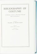 Books:Horror & Supernatural, [Costume]. [Bibliography]. Hilaire and Meyer Hiler, compilers.Bibliography of Costume. A Dictionary Catalog of About Ei...